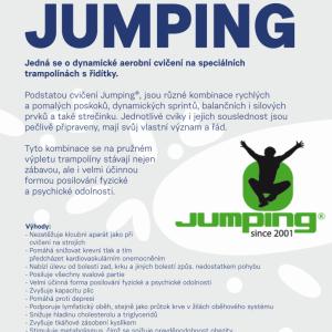 Jumping  - cvičení na trampolínách